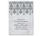 Grand Pillars - Reception Card