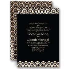 Art Deco Presentation - Invitation