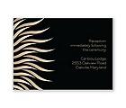 Art Deco Presentation - Reception Card