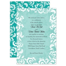 Bold Flourishes - Palm - Invitation