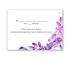 Watercolor Dream - Grapevine - Response Card and Envelope