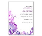 Watercolor Dream - Grapevine - Save the Date Card