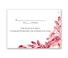 Watercolor Dream - Posie Pink - Response Card and Envelope
