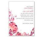Watercolor Dream - Posie Pink - Save the Date Card