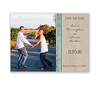 Rustic Frame - Aqua - Save the Date Card