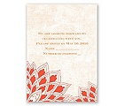 Feathered Flair - Tango - Response Card and Envelope