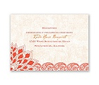 Feathered Flair - Tango - Reception Card