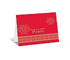 Lotus Dream - Cherry - Note Card and Envelope