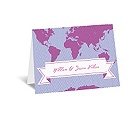 World of Romance - Orchid - Note Card and Envelope