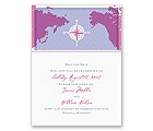 World of Romance - Orchid - Save the Date Card