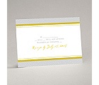 World of Romance - Sterling - Response Card and Envelope