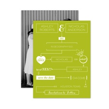 How We Met - Save the Date Card