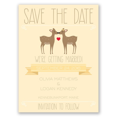 Dear to Me - Save the Date Card