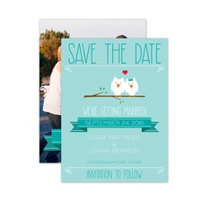Whooo's in Love? - Save the Date Card