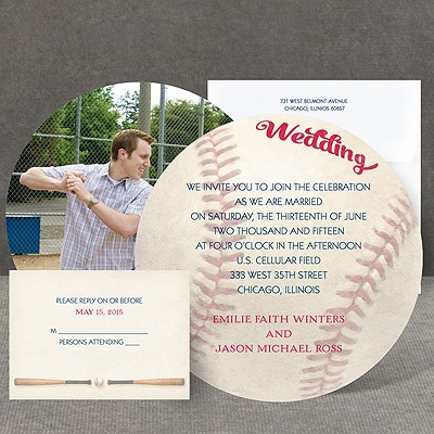 Love for Baseball - Invitation
