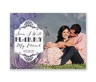 Antique Charm - Lavender - Save the Date Card