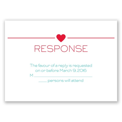 State Pride - Response Card and Envelope