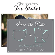 State Your Love - Save the Date Card