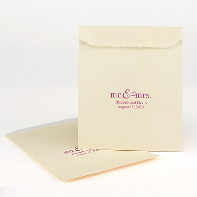Ecru Cake Bag - personalized