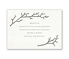 Beneath the Branches - Reception Card