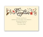 Flowering Faith - Corabell - Reception Card