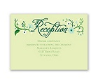 Flowering Faith - Kelly Green - Reception Card