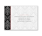 Pretty Pattern - Reception Card