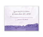 Sweet Sea Horses - Grapevine - Response Card and Envelope