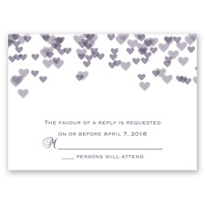 Shades of Love - Response Card