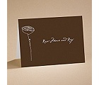 Bloom - (Chocolate) Note Card and Envelope