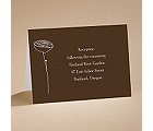 Bloom - (Chocolate) Reception Card