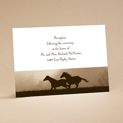 Daybreak - Reception Card