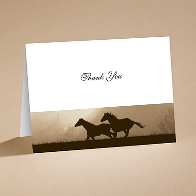 Daybreak - Thank You Card and Envelope