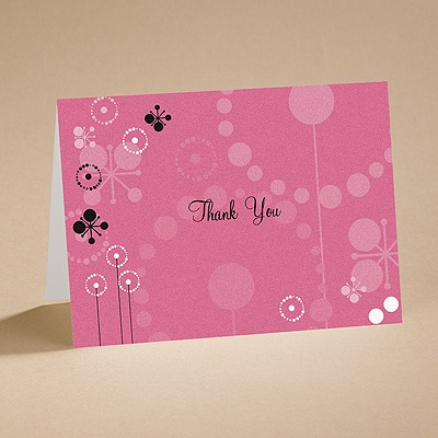 Make a Splash - Thank You Card and Envelope