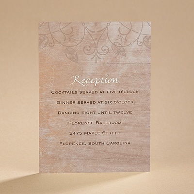 Blended Bliss - Reception Card