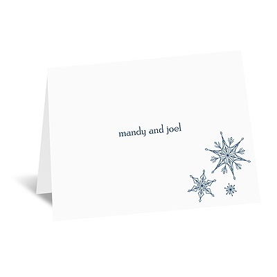 Sensational Snowfall - Note Card and Envelope
