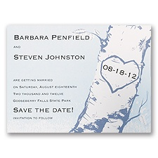 Tree - Save the Date Card