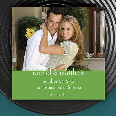 Magnetic Save The Date - Grass