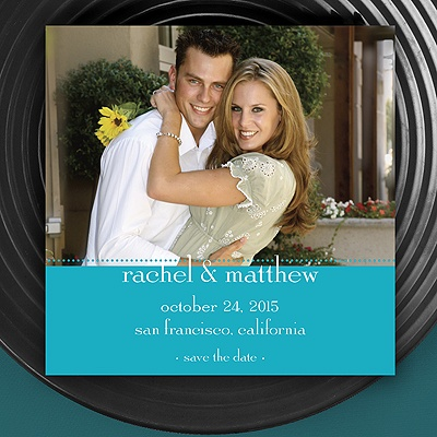Magnetic Save The Date - Palm