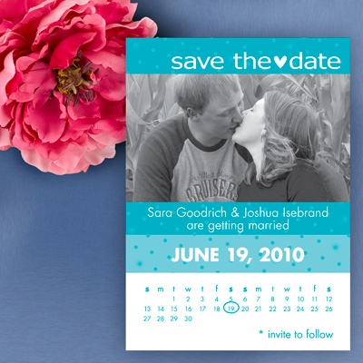 Calendar Save The Date - Palm