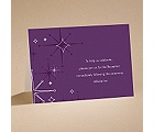 Seeing Stars - Grapevine - Reception Card