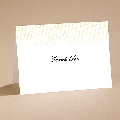 Light The Way (Canary) - Thank You Card and Envelope