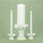 Calla Lily Unity Candle Holder