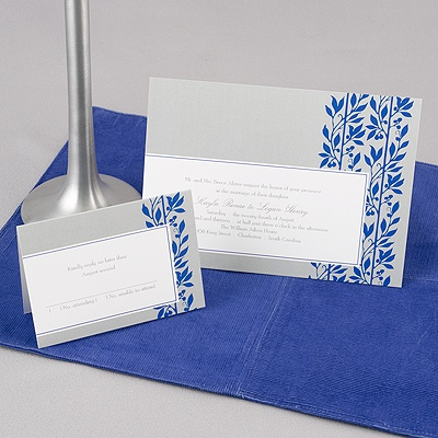 Flower Child - Blue - Invitation