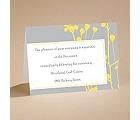 Flower Child - Reception Card