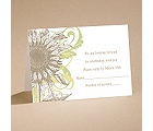 Floral Flair - Respond Card and Envelope