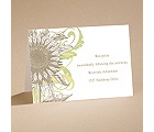 Floral Flair - Reception Card