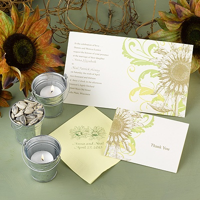 Floral Flair - Invitation