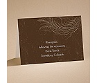 Country Chic - Bark - Reception Card