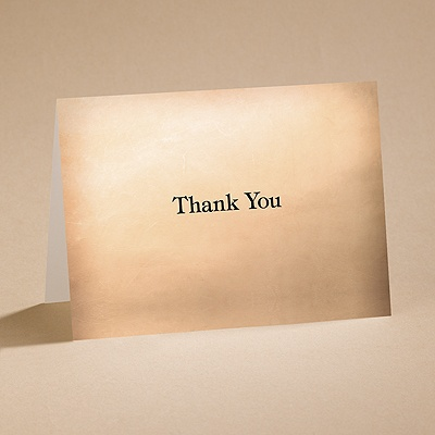 Gear Up - Thank You Card and Envelope